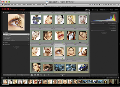 Video-aula de Lightroom by Clicio